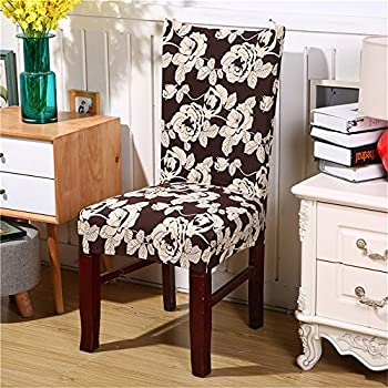 junda stretch slipcovers chair covers dining chair cover for home hotel office wedding multicolor