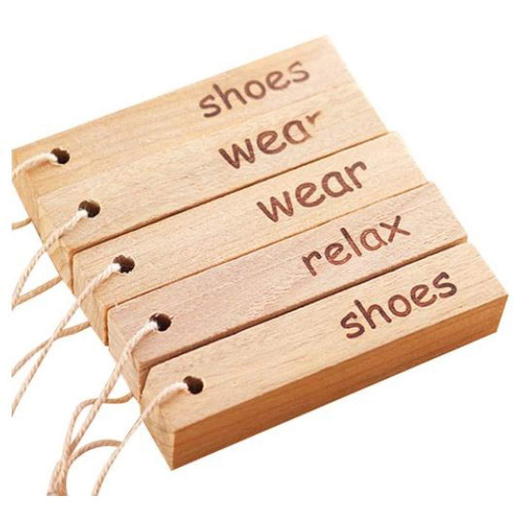 HW Moth Repellent, Natural Fresh Camphor Wood Root Aromatic Non-Toxic Clothes Shoes, Wardrobes, Cars (Set of 15 pcs)