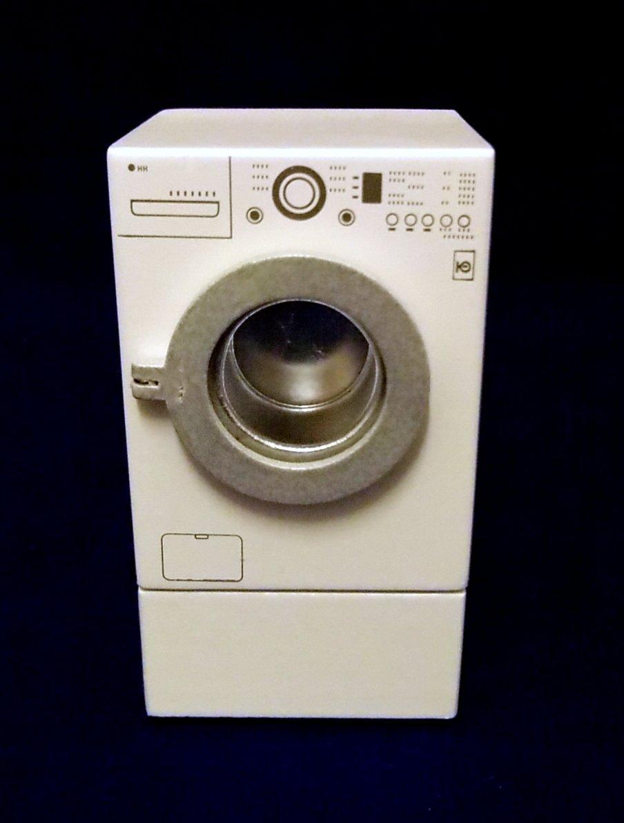 Miniature Washing Machine Dolls House Miniature 112 Kitchen Laundry Furniture Appliance