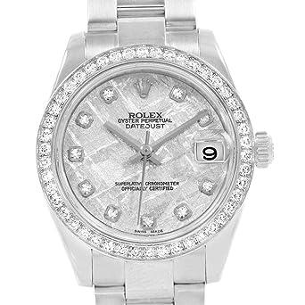 half off d7117 aa788 Amazon | ロレックス デイトジャスト 自動巻き レディース腕時計 ...