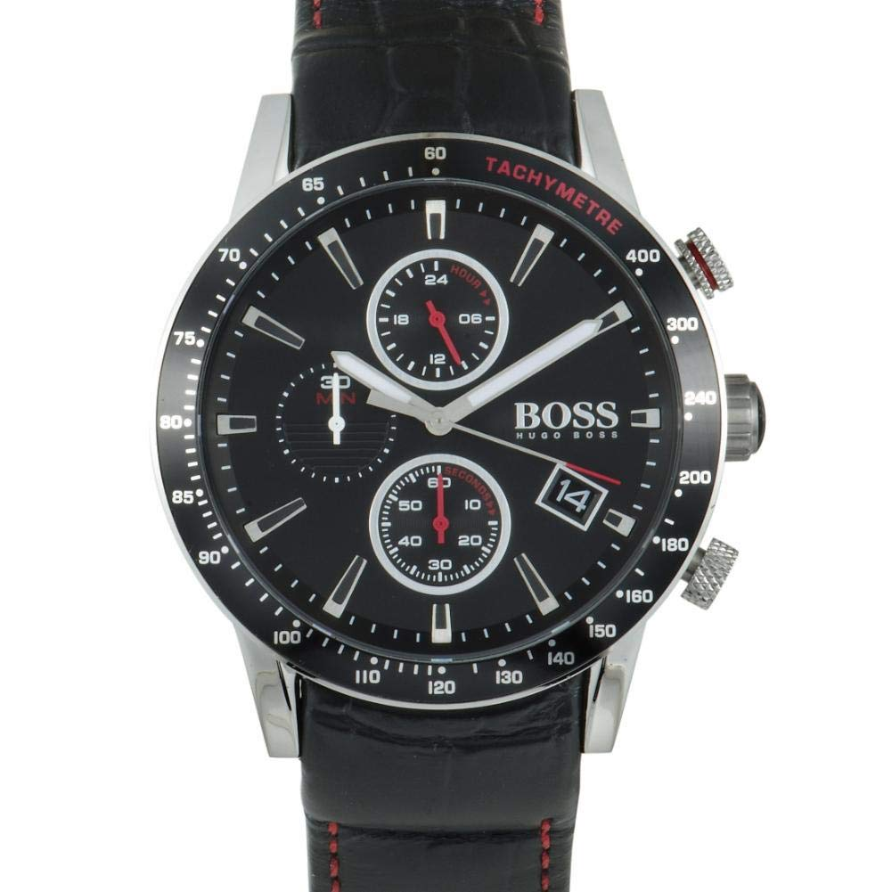 Hugo Boss Rafale Quartz Male Watch 1513390 (Certified Pre-Owned)