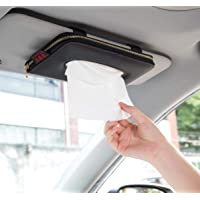 Fredyusu Car Tissue Holder, Car Visor Tissue Holder, Perfect Solid Color Auto Tissue Box, Tissue case Holder for car…