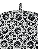 Decorative Black and White Tea Cosy Indian