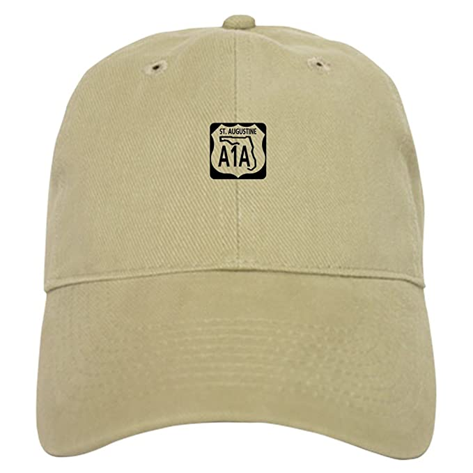 Amazon Com Cafepress A1a St Augustine Baseball Cap With