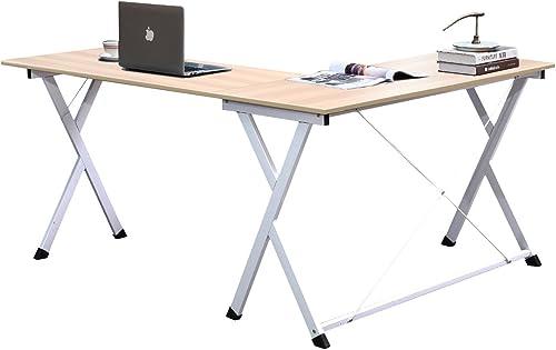 soges 62 inches L Shape Computer Desk Large Corner Desk