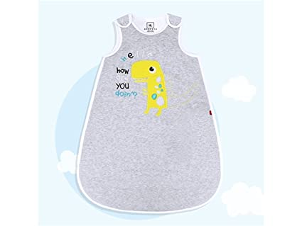 kxrzu Gracioso Bebé recién nacido Patrón de dinosaurio saco de dormir Paño de dibujos animados dormir