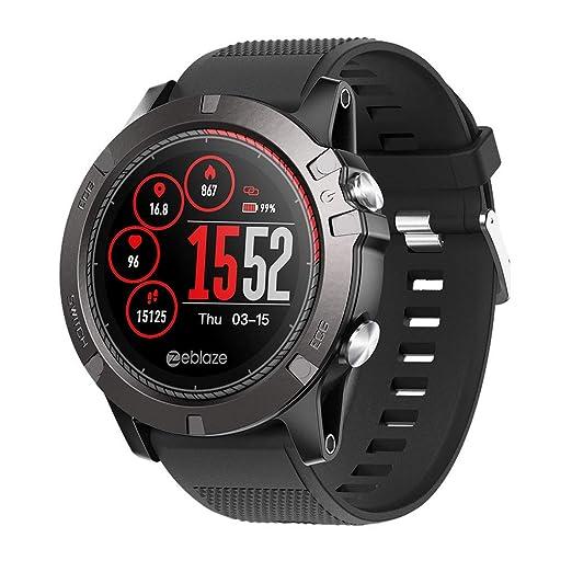 Beisoug Zeblaze Vibe 3 ECG Reloj Inteligente Monitor de ...