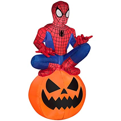 Amazon.com: 3.5 ft Tall Marvel Ultimate Spider-Man airblown ...