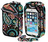 Charm14 Bag- Crossbody Cell Phone Purse- Penelope Quilt- Fits all phones