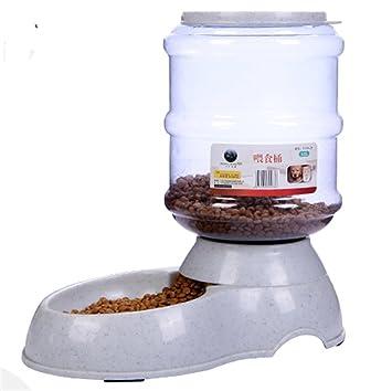 dobeans® Dispensador de pienso automático para perro y gato Large, 30.5 * 32 * 17.5 cm, 3,5L: Amazon.es: Productos para mascotas