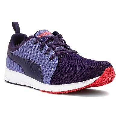 Puma Mens Carson Runner Jr Running Shoes Astral Aura-Astral Aura-Bleached  Denim Size