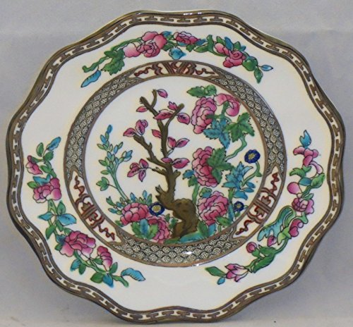 Coalport Indian Tree-Multicolor (Scalloped,newer) Bread & Butter Plate