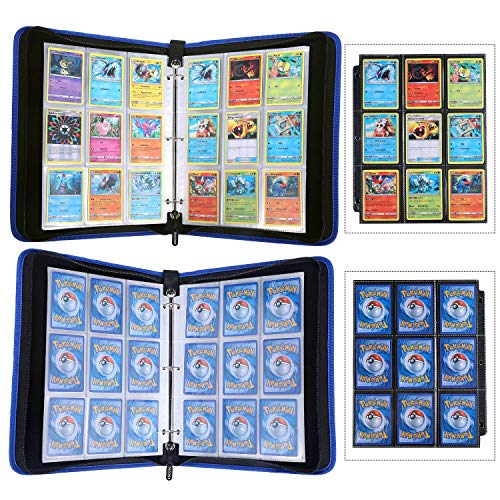 DACCKIT Carrying Case Compatible with Pokemon Trading Cards, Cards Collectors Album with 30 Premium 9-Pocket Pages, Holds Up to 540 Cards by DACCKIT (Image #5)