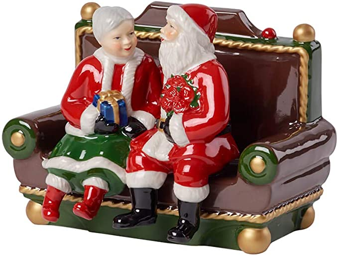 Decorazioni Natalizie Villeroy E Boch.Villeroy Boch Decorazione Natale Bianco 16 X 12 Cm Amazon It Casa E Cucina