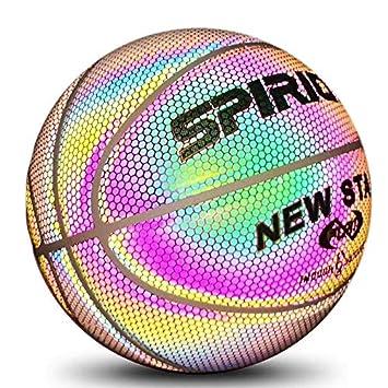 Amazon.com: Smile Luminous Balón de baloncesto, Luminous ...