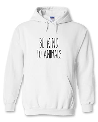 be kind to animals hoodie at amazon men s clothing store DDJ-SX Back