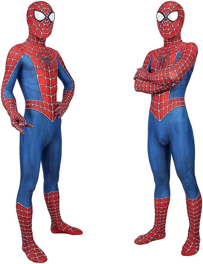 CVFDGETS Spiderman Niño Adulto Juego Anime Halloween Cosplay Lycra ...