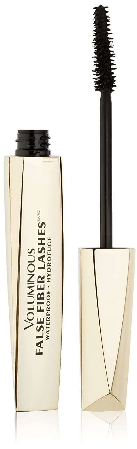 Amazon.com : LOreal Paris Voluminous False Fiber Lashes Waterproof Mascara (Black 2 Pack) : Beauty