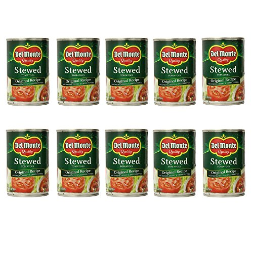 10 can tomatoes - 8
