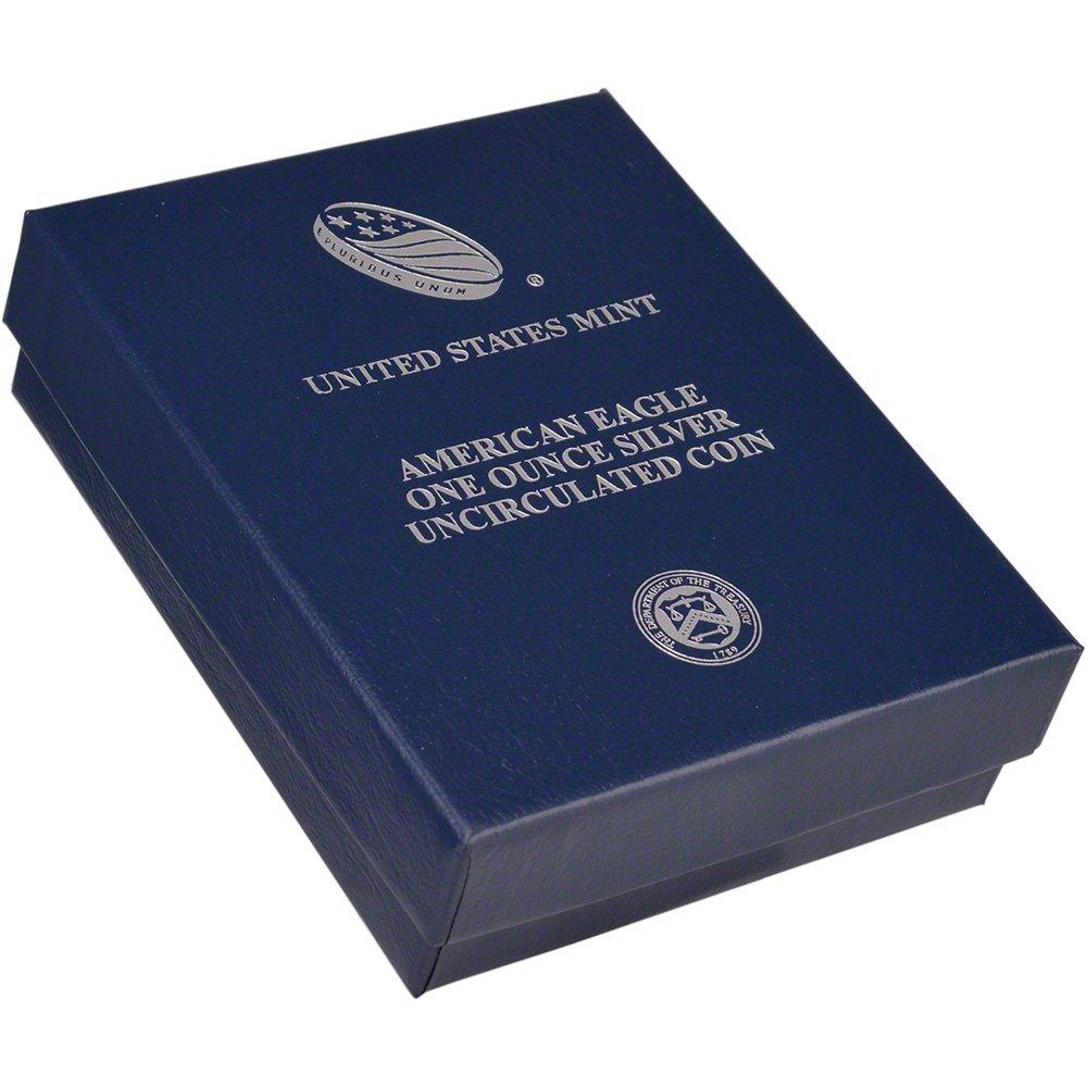 American Eagle 2017 One Ounce Silver Uncirculated Coin 17EG