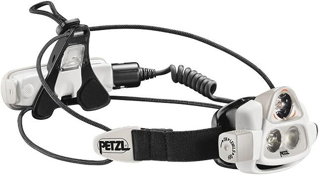 PETZL Nao - Linterna (Linterna con Cinta para Cabeza, Negro, Gris ...