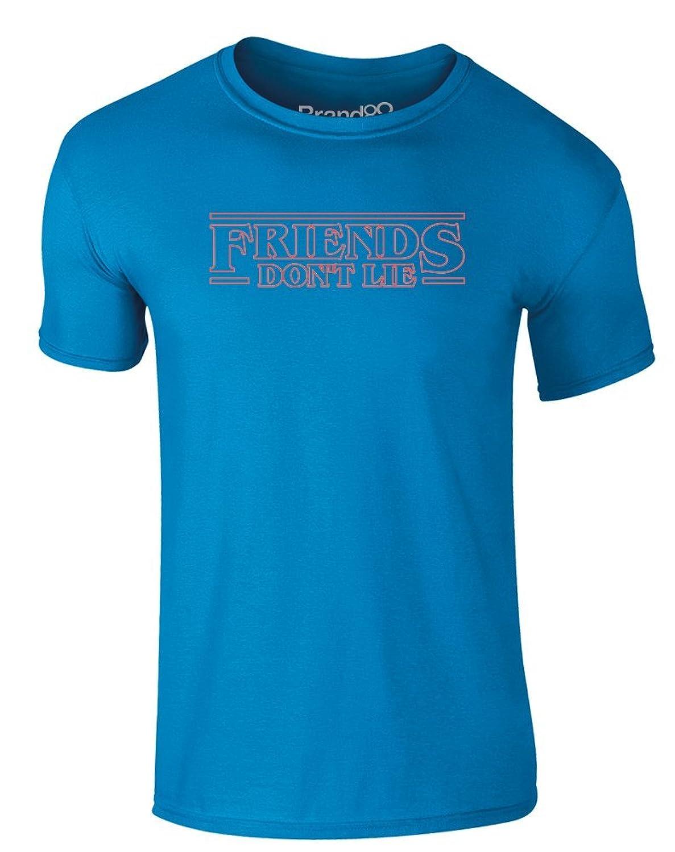 Brand88 - Friends Don't Lie, Erwachsene Gedrucktes T-Shirt: Amazon.de:  Bekleidung