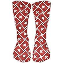 Switzerland Flag Weave Ankle Socks Crew Socks Sports Socks Perfect Novelty Gift Idea For Hiking Running Travel Bodybuilding Leisure