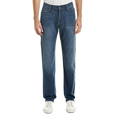 7 For All Mankind Men's Standard Classic Straight Leg Jeans French Blues: Clothing