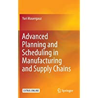 Advanced Planning and Scheduling in Manufacturing and Supply Chains