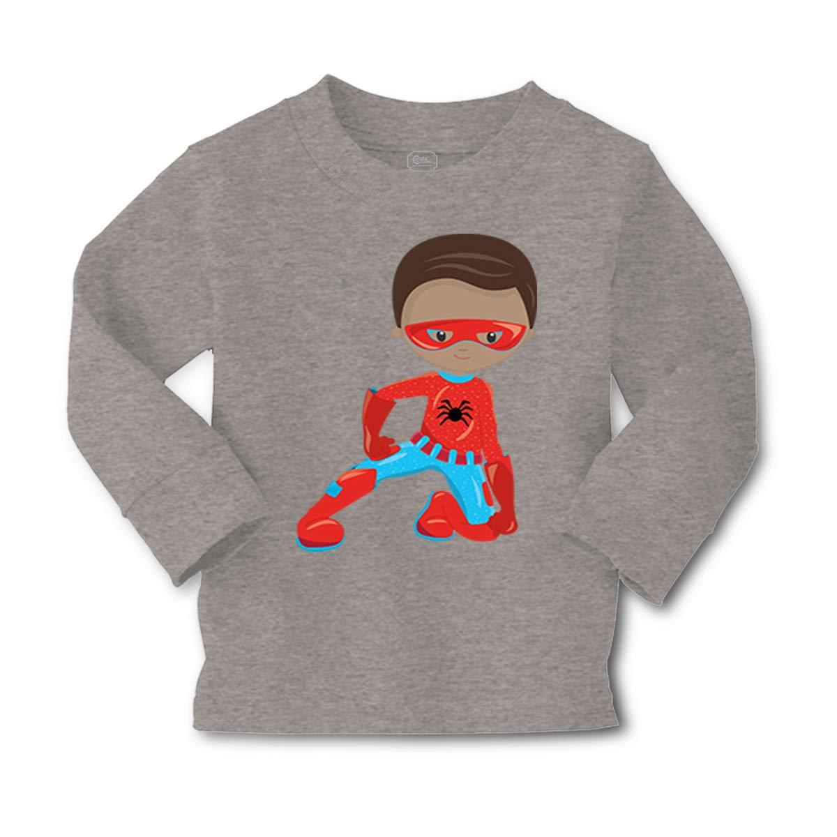 Spider Man Brown B Crewneck Girls T Shirt Tee 3337