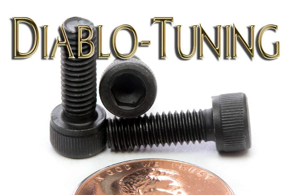 "Qty 10 Alloy Steel w// Black Oxide #4-48 x 1//2/"" Socket Head Cap Screws SAE"