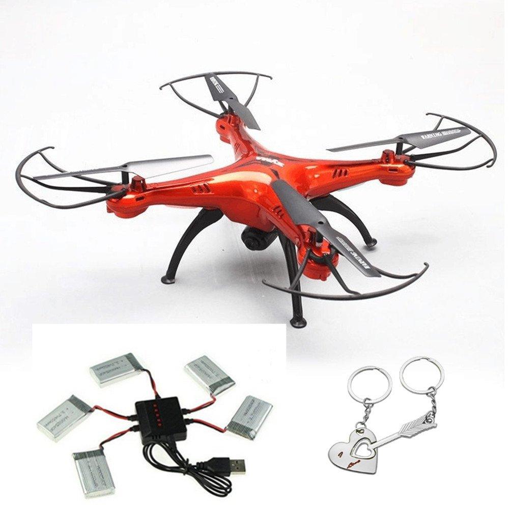 Syma X5SW-1 Drone Quadcopter RC con Cámara (4Ch 6 Axis, 2.4G, RTF ...