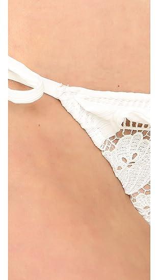1649e984c4 Amazon.com  For Love   Lemons Women s Corsica Lacey Ruffle Bottoms  Clothing