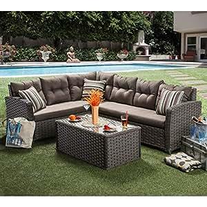 Muebles de América Bliss 2piezas al aire libre seccional