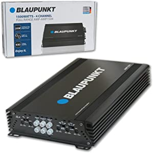 Blaupunkt 1500W 4-Channel, Full-Range Amplifier