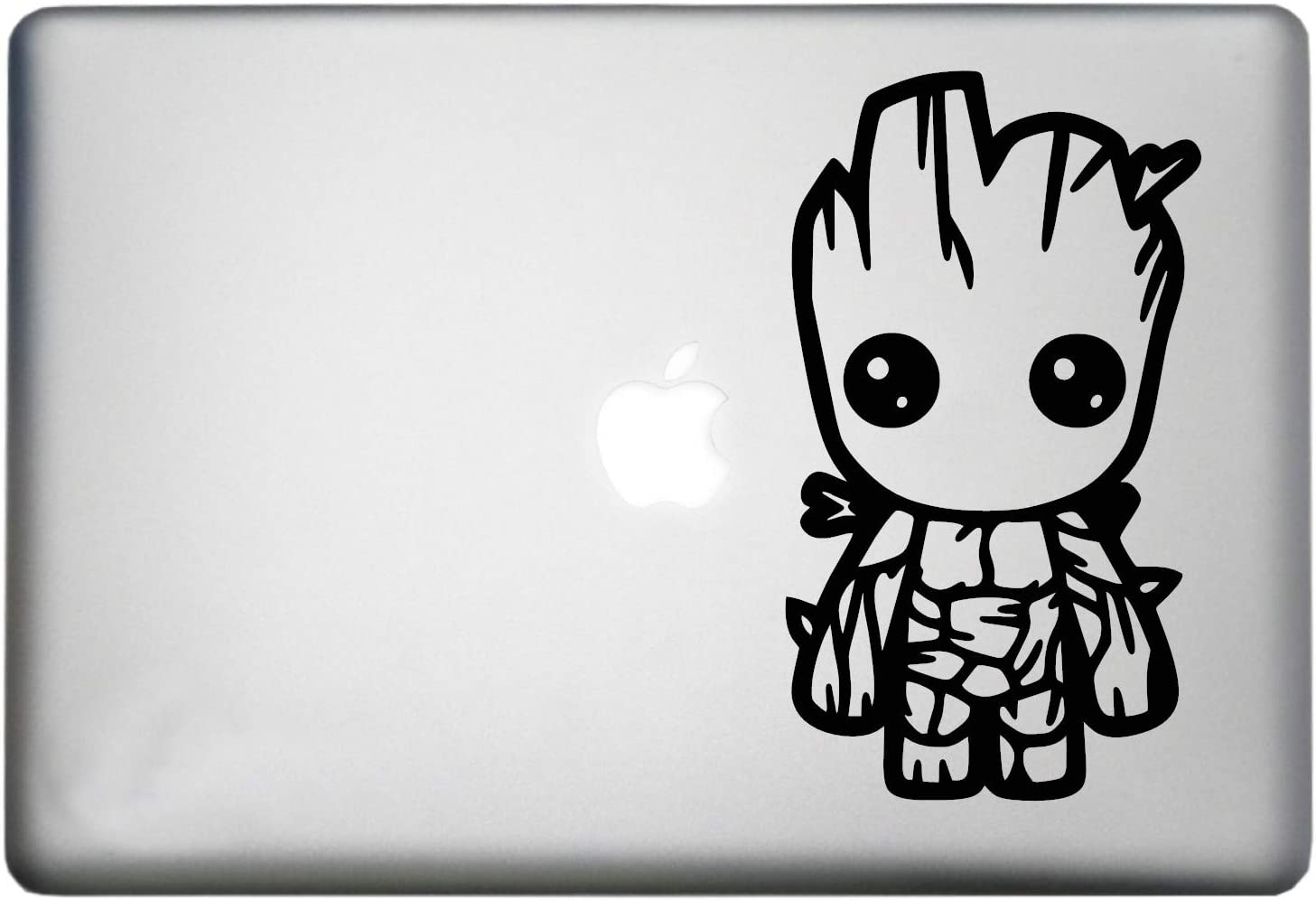 Baby Groot Sticker MacBook Pro Decal is a Baby Groot Plant Vinyl Decal. Laptop Sizes 11, 12, 13 and 15 inch. Looks Great with Your Guardians of The Galaxy Theme. Many Colors-Black