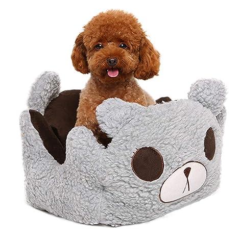 MeiHao Cama Suave para Perros de Dibujos Animados, Cama para ...
