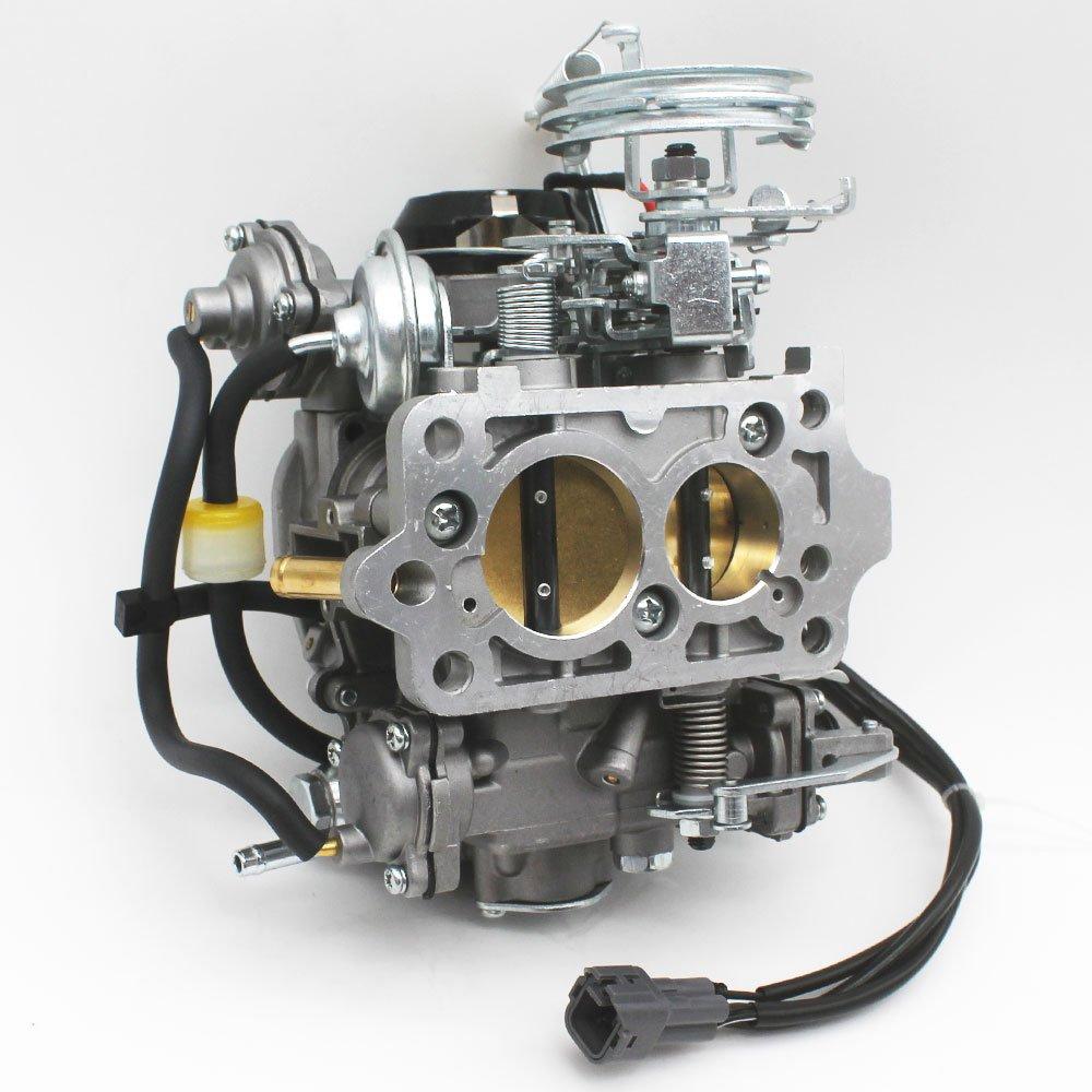 KIPA Carburetor for Toyota 22R 2.4L 3.0L Engine 1981 Corona 1981-1984 Celica 1981-1995 PickUp 1984 4Runner 1981-1988 Hilux Replace OEM part number 21100-35520 2110035520 Electric choke