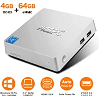 ACEPC T11 Mini PC, Windows 10 Pro (T11/4GB+64GB/Windows 10 Pro)