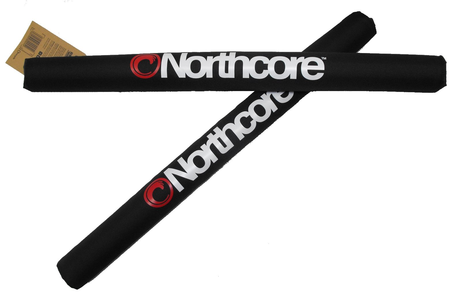 Northcore Roof Bar Pads Surf Rack One Size Black