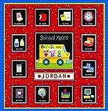 School Years Personalized 24 Pocketful of Memories Book Album:Off to School Dena Designs