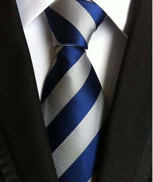 Corbata para hombre Corbata a rayas para hombre Vestido de ...