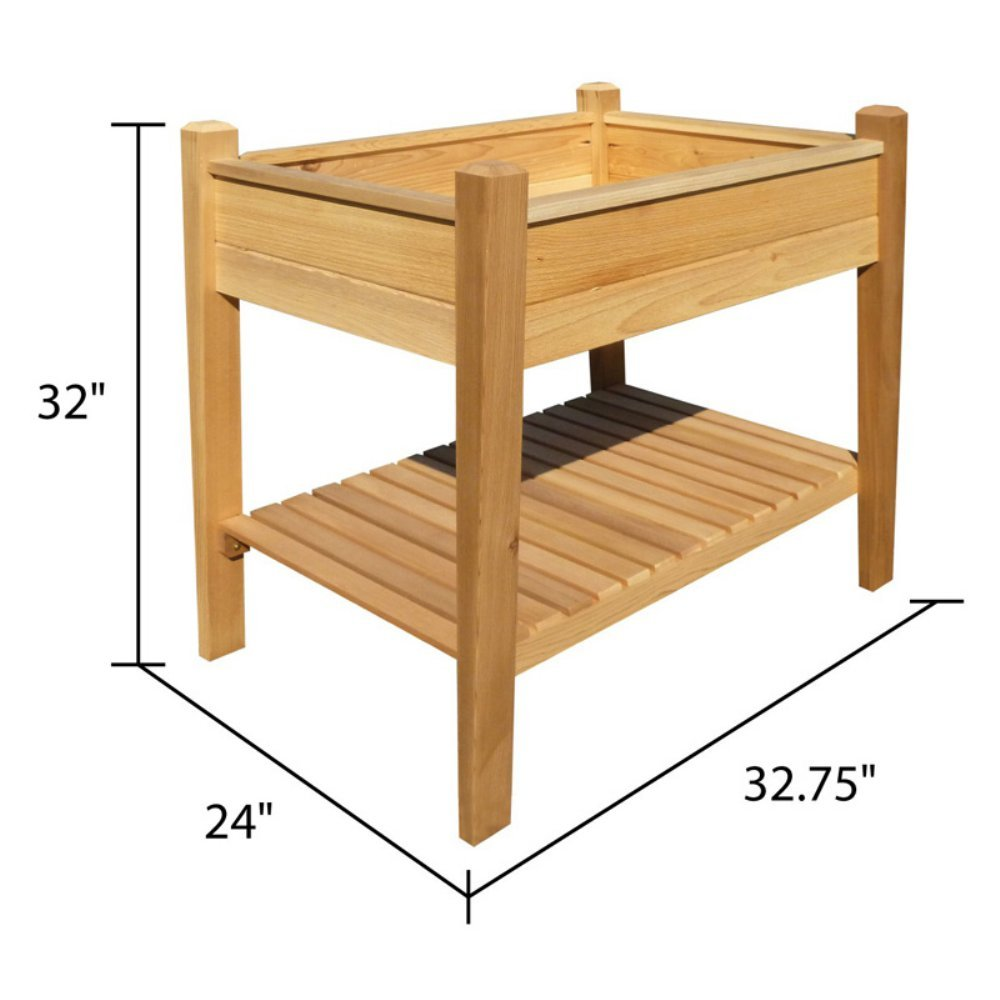 Amazon.com : LWO Arboria 17x45 EZ Plant Elevated Garden : Garden U0026 Outdoor
