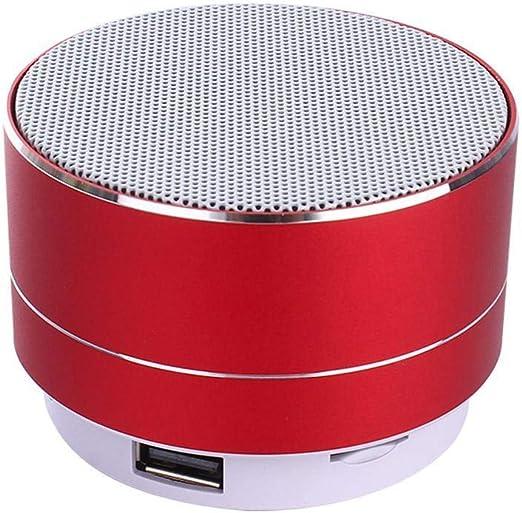 Lnyy Altavoz Bluetooth Mini móvil teléfono pequeño Equipo de Sonido y Altavoces pequeños Consejos luz 44 * 71mm: Amazon.es: Jardín