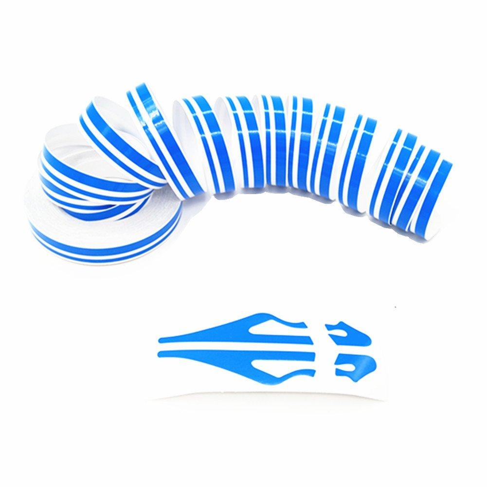 DIY Vinyl Pin Stripe Decals Auto Pinstriping Tape Waterproof Chrome Pinstripe Tape