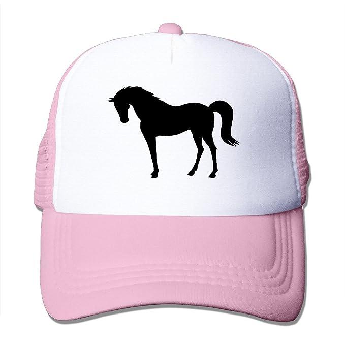 Pengle Hats Silhouette Horse Trucker Hats Character Designs Hip Hop Baseball Caps at Amazon Mens Clothing store: