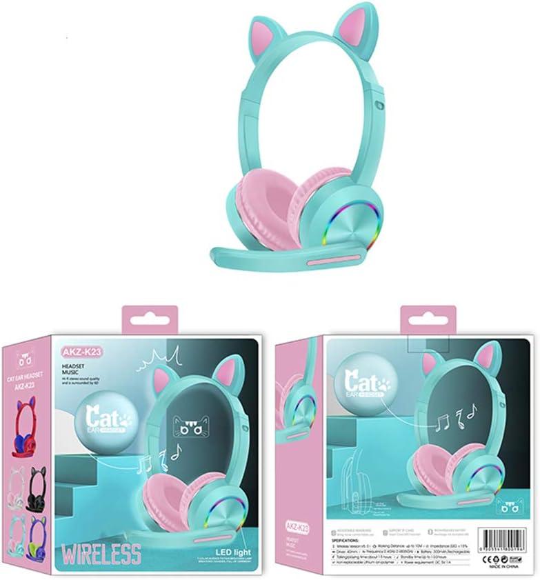 mp4 Tablet Kinderkopfh/örer,Bluetooth Kopfh/örer Wireless Headset f/ür Kinder Schalter Over Ear Ohrensch/ützer Mikrofon f/ür Smartphone Computer Laptop