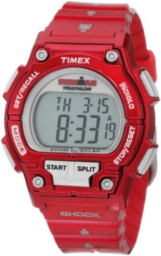 Timex Women's T5K5579J Sport Ironman Cherry Full Size Shock 30 Lap Watch
