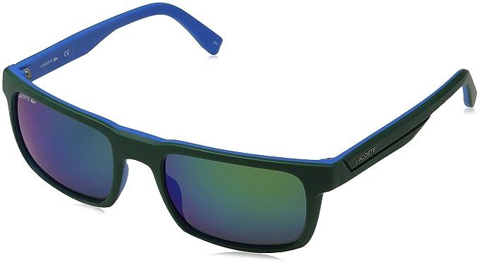Lacoste L866S 315 56 Gafas de Sol, Matte Green, Unisex-niños ...