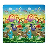 Extra Large Baby Play Mat – Non-Toxic Non-Slip Waterproof Playroom Nursery Game Crawling Rugs – Double Sides Foam Floor PlayMat for Babies Toddlers and Kids – 70.2x78x0.2inch